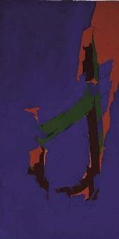 painting #62-2 by matsumi kanemitsu
