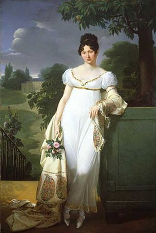portrait of félicité-louise-julie-constance de durfort, maréchale de beurnonville (10 june 1782 – 7 february 1870) by merry-joseph blondel