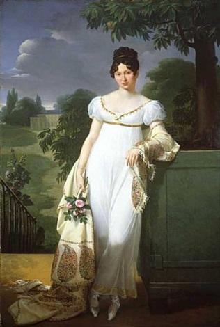 portrait of félicité-louise-julie-constance de durfort, maréchale de beurnonville (10 june 1782 – 7 february 1870) by merry-joseph blondel