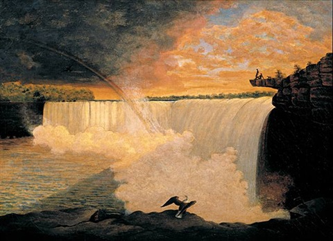 niagara falls by william constable