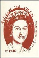 old queen (red) by jamie reid