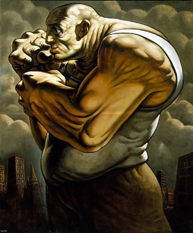 mechech by peter howson