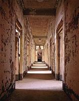 administrative building, hallway, ellis island by stephen wilkes