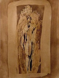 candlebearer (study) by chris dolan