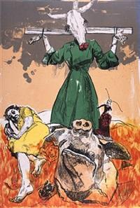 scarecrow by paula rego