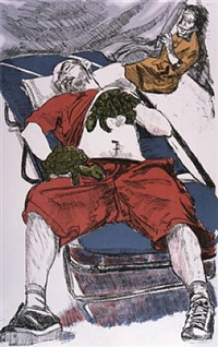 turtle hands by paula rego