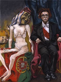the old republic by paula rego