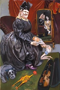 the aunt by paula rego