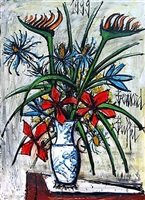le grand bouquet by bernard buffet