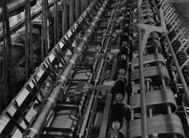schubert & salzer factory, ingolstadt, germany by albert renger-patzsch