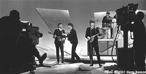 the beatles, ed sullivan show by harry benson