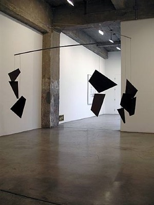 concrete autumn (dead leaves. no ground) by martin boyce