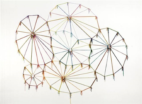 colors, cultures, knots and time by ernesto neto
