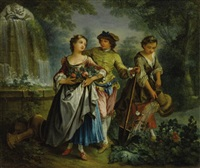 dans le jardin by michel barthelemy olivier