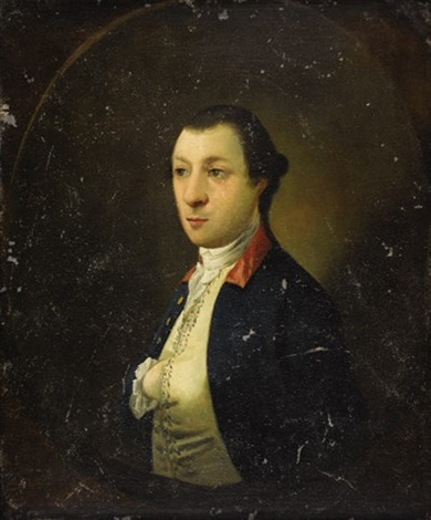 portrait of a young man washington the leger portrait by john wollaston