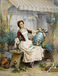 the easter eggs by pierre outin