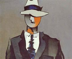 l'homme à la cravate tordue by jean hélion