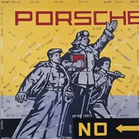 porsche by wang guangyi