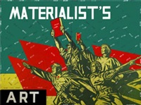 materialist's art by wang guangyi