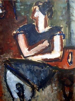 portrait de peggy guggenheim by jean hélion