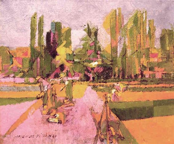 Potager à la Brunié, 1941 9f8c2483cf7