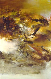 composition by zao wou-ki
