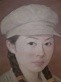 portrait by qi zhilong