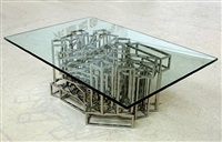 cube coffee table by xyz design