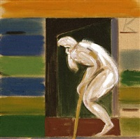 death's door by ronald brooks kitaj