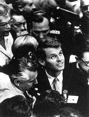 robert kennedy, democratic convention by alfred eisenstaedt