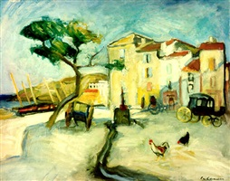 port de cassis by charles camoin
