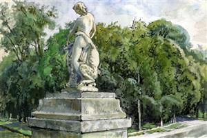 fontainbleau by alexandre benois