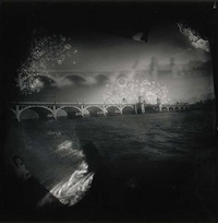 burning bridges (peripheral plate series) by christopher myers