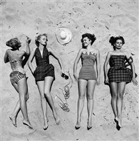 beach fashions by nina leen © time inc. by life photographers