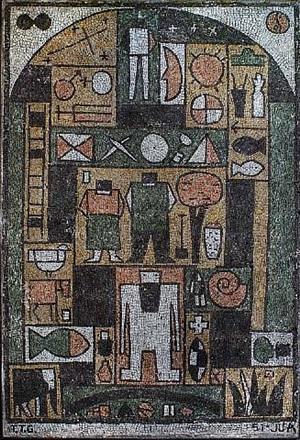 stone mosaic by julio alpuy