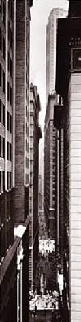 exchange place, new york, c. 1934 by berenice abbott
