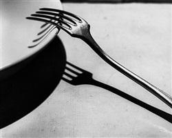 fork, paris, 1928 by andré kertész