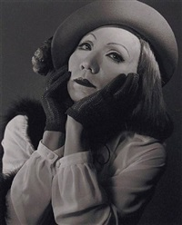 self-portrait - greta garbo by yasumasa morimura