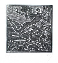 fuge dilecti mi by eric gill