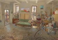 adam's studio by andrew lenaghan