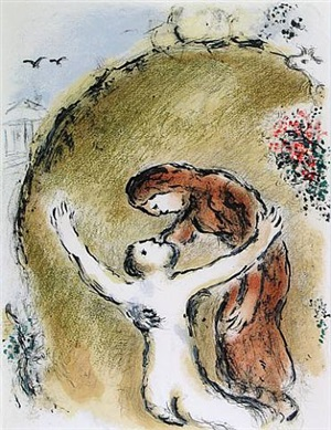 the soul of elpenor by marc chagall