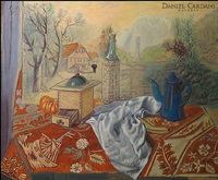 nature morte by manuel angeles ortiz