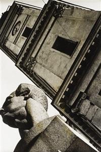 monument to ferdinand lassalle, leningrad by boris ignatovich