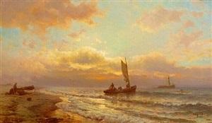 morning, long island by mauritz frederick hendrick de haas
