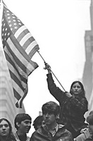 first anti-vietnam war march, new york by leroy henderson