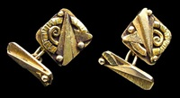 art deco cufflinks by aristide colotte