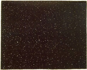 night sky by vija celmins