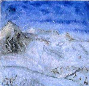 december-january, sun valley #6 by jennifer bartlett