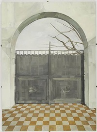 cemetery gate by gillian carnegie