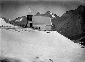 albert steiner, kapelle in arosa (chapel in arosa)